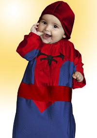 disfraces para bebes, spiderman