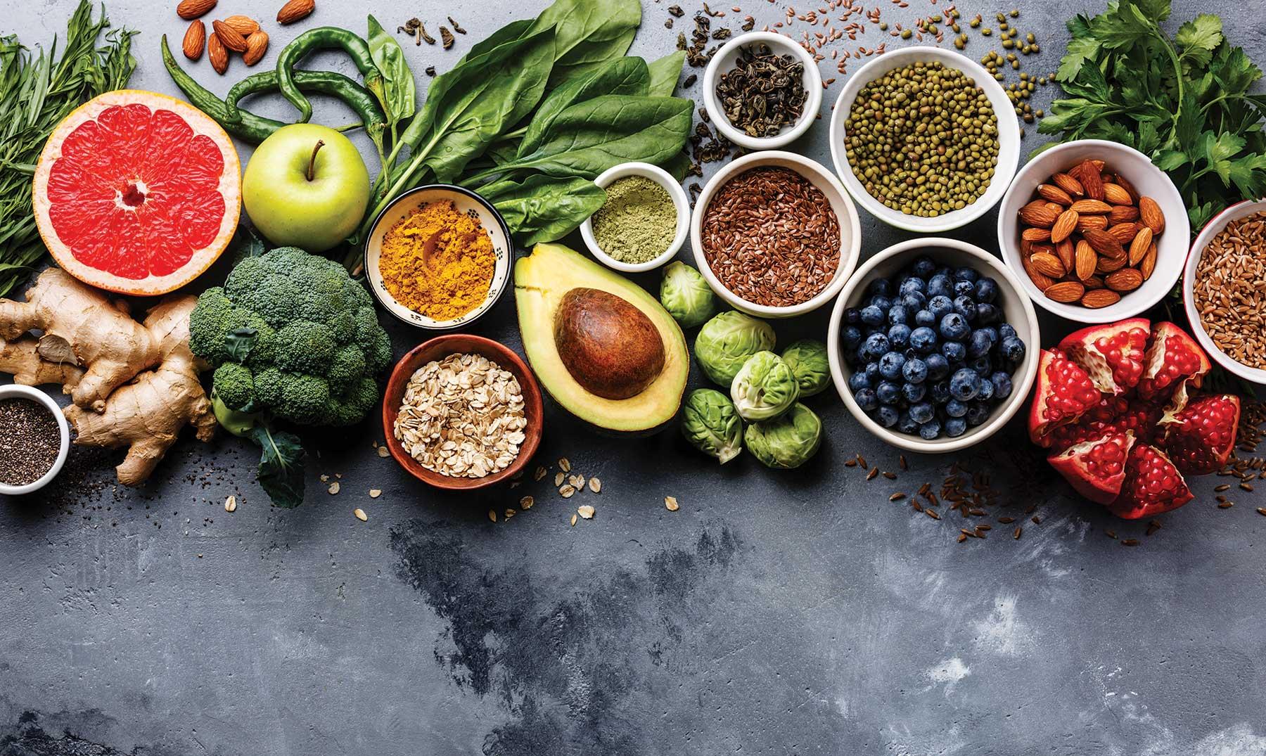 lista de alimentos saludables durante el embarazo