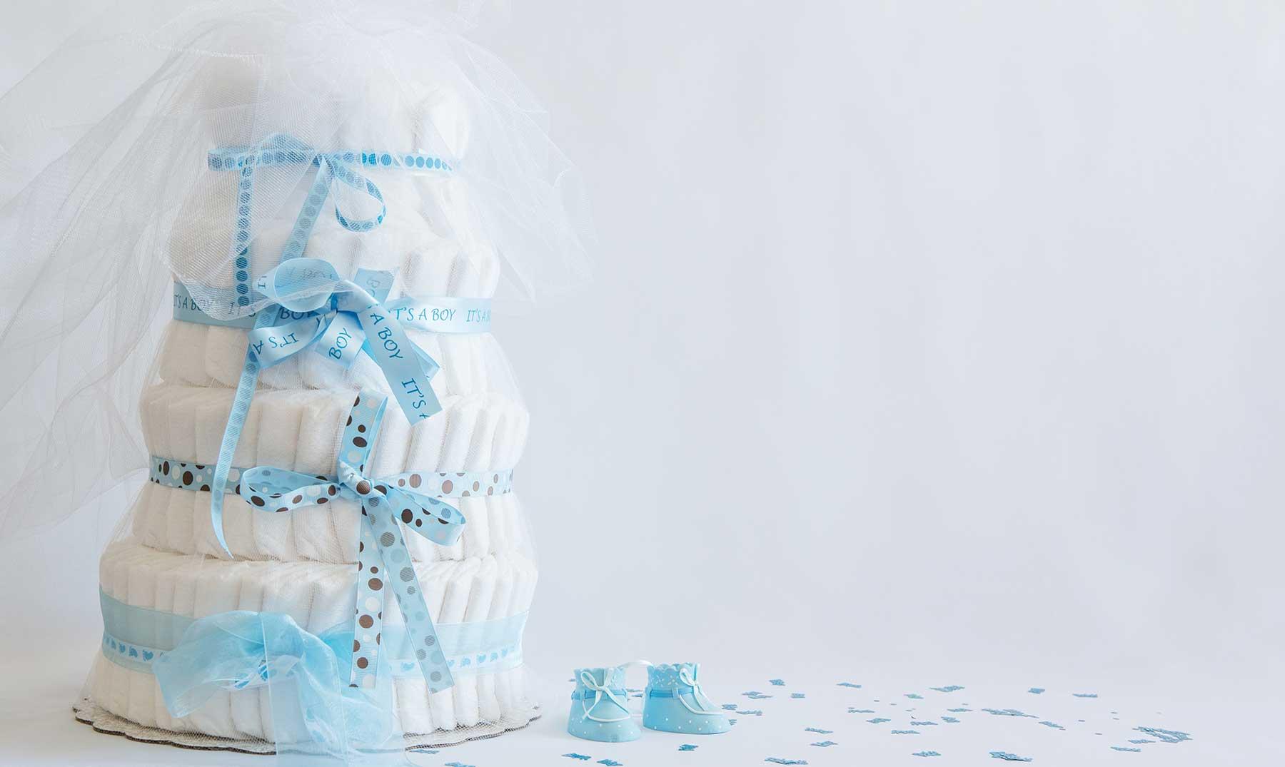 Paso a paso cómo hacer tu propio pastel de pañales casero