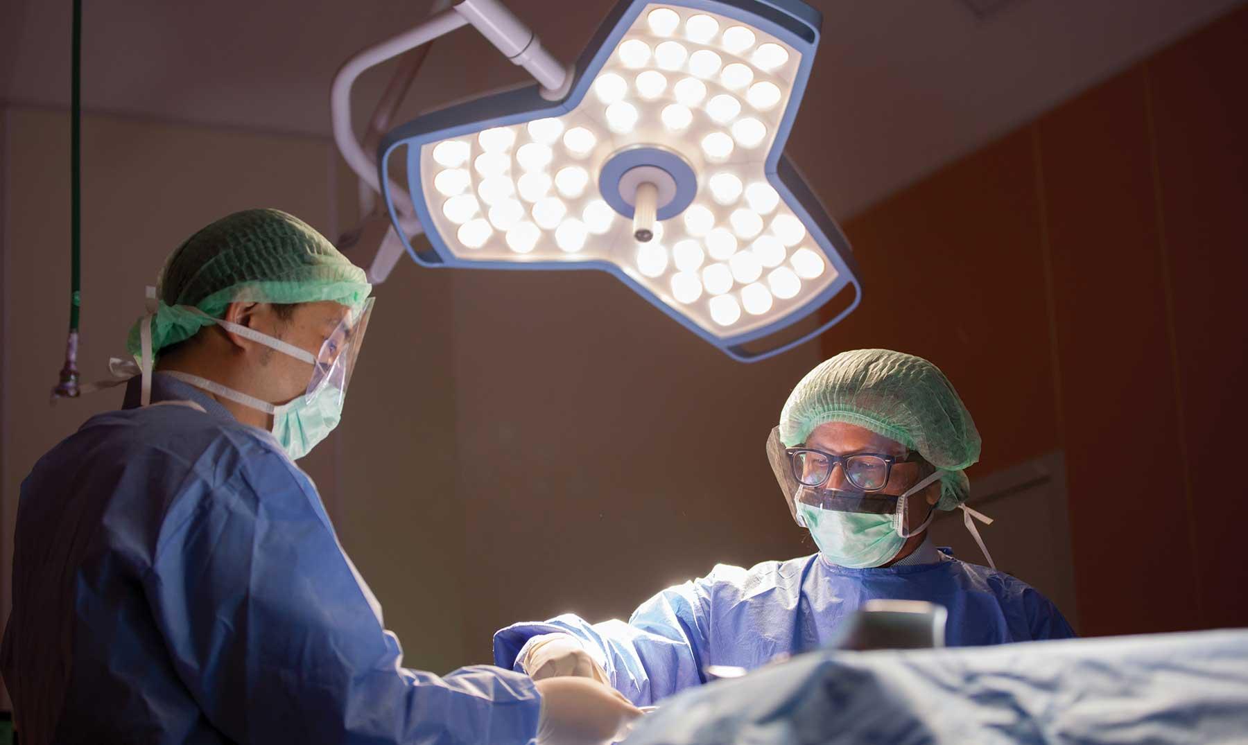 Histerectomía y anexectomía por laparoscopia