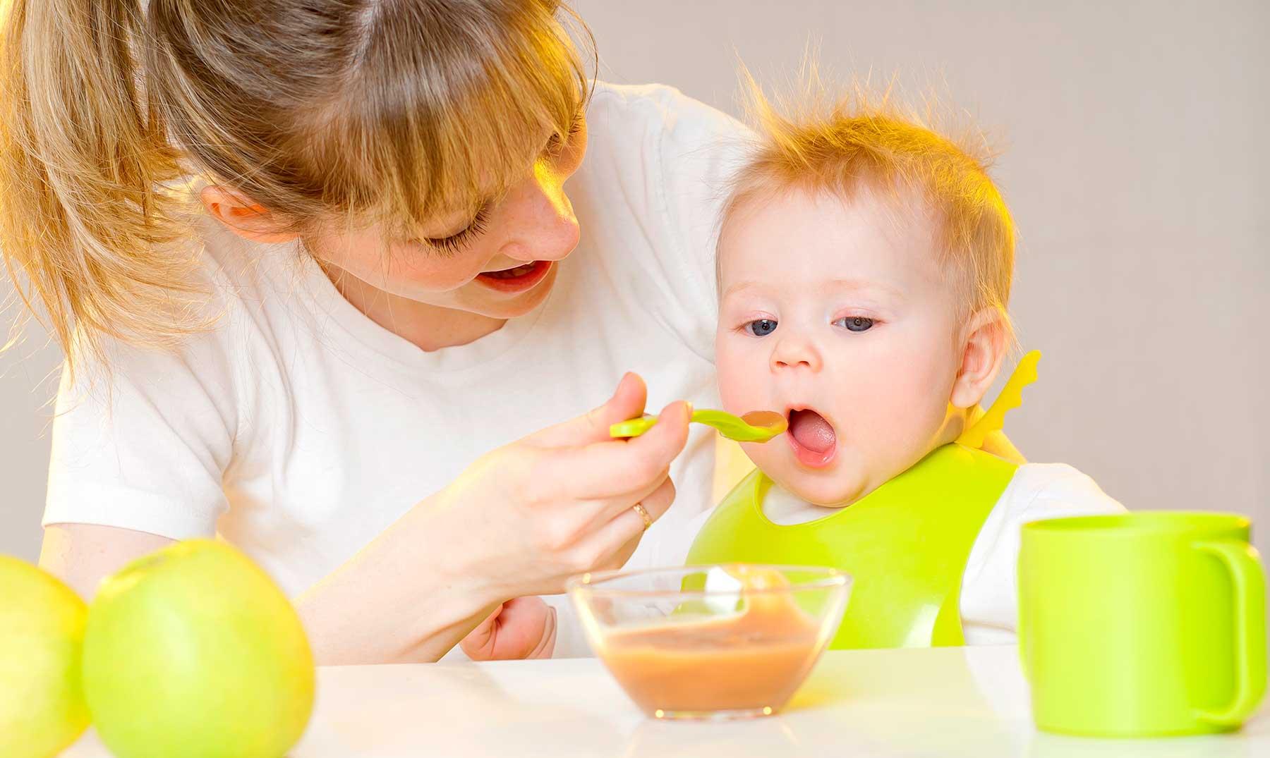 7 recetas de papillas caseras para tu bebé