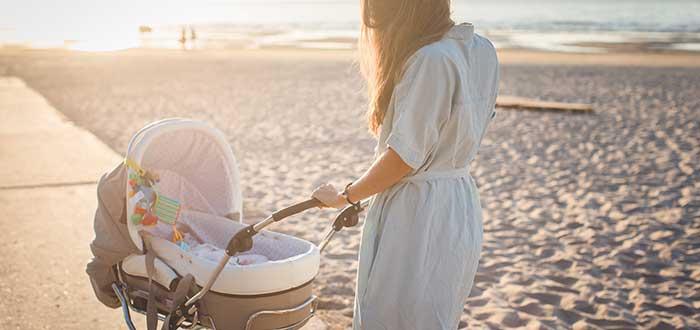 Pasear con un bebé y qué opciones recomendables tienes. 1