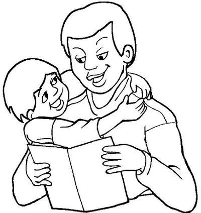 Dibujos Para Pintar Del Día Del Padre Blog De Bebés